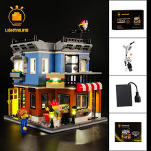LIGHTAILING LED Light Kit For Creator Corner Deli Lighting Set Compatible With 31050 (NOT Include The Model)(China)