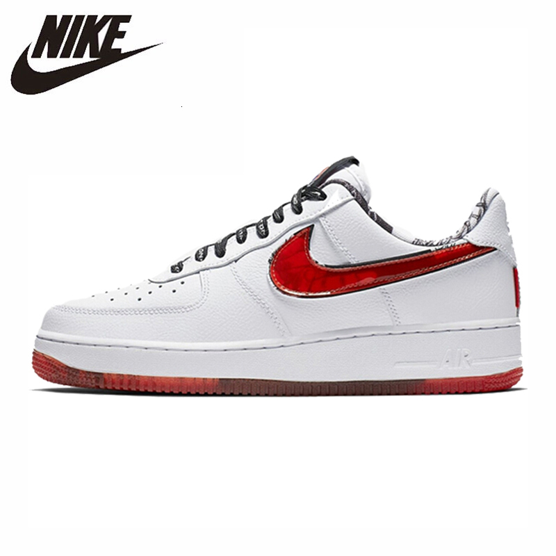 Original Nike Air Force 1 Men Skateboarding Shoes Comfortable Leather Outdoor Sports AF1 Sneakers 2019 New Arrival CJ2826-178