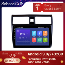 """Seicane Car Stereo GPS Navigation Multimedia Player For 2005 2006 2007 2008 2009 2010 Suzuki Swift 10.1"""" Android 9.0 Head Unit"""