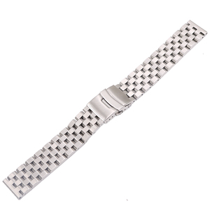 CARLYWET 22mm Silver Solid Lin