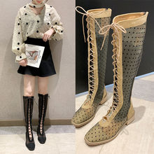 2020 Spring Sandals Boots Knee High Women Fashion Sexy Gladiator