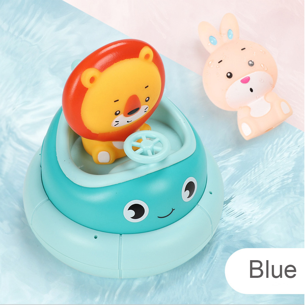 2020 New Children's Bathroom Electric Rotating Cup Baby Water Spray Bath Puzzle Play Water Toys High Quality