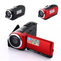 HD 1080P Digital Camera HDV Video Camera Camcorder 16MP 16x Zoom COMS Sensor 270 Degree 2.7 inch TFT LCD Screen