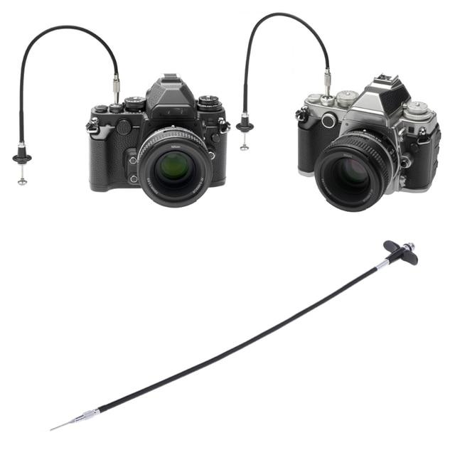 ETone 40 cm/70 cm/100 cm mekanik deklanşör kontrol kablosu dijital kamera/Film kamera