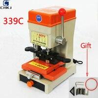 CHKJ DEFU 339C 220v Key Cutting Machine For Make Copy Car And House Keys Drill Copy Machine Key Cutter Locksmiths Supplies