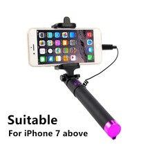 Selfiestick for iPhone 7 8 plus xs max xr x Selfie Stick Camera Palo Selfie Selfy Stick Perche A Selfie Universelle Asta Perche