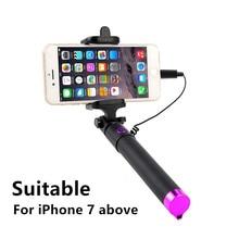Selfiestick para iphone 7 8 plus xs max xr x selfie vara câmera palo selfie selfie vara perche um selfie universelle asta perche