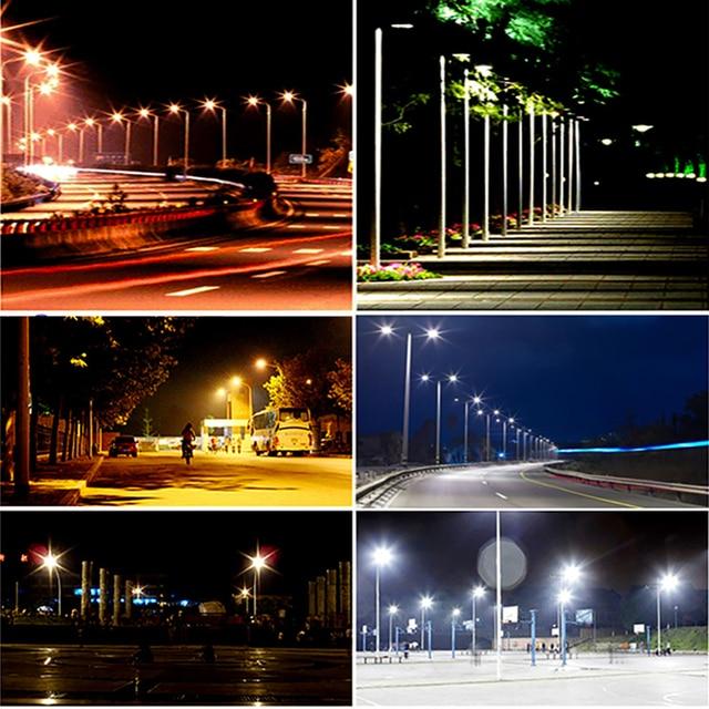 100W LED Street Lamp Outdoor Lighting Road Wall Lamp Waterproof IP65 Energy Saving Security Garden Yard Ultra-thin Spotlights 6