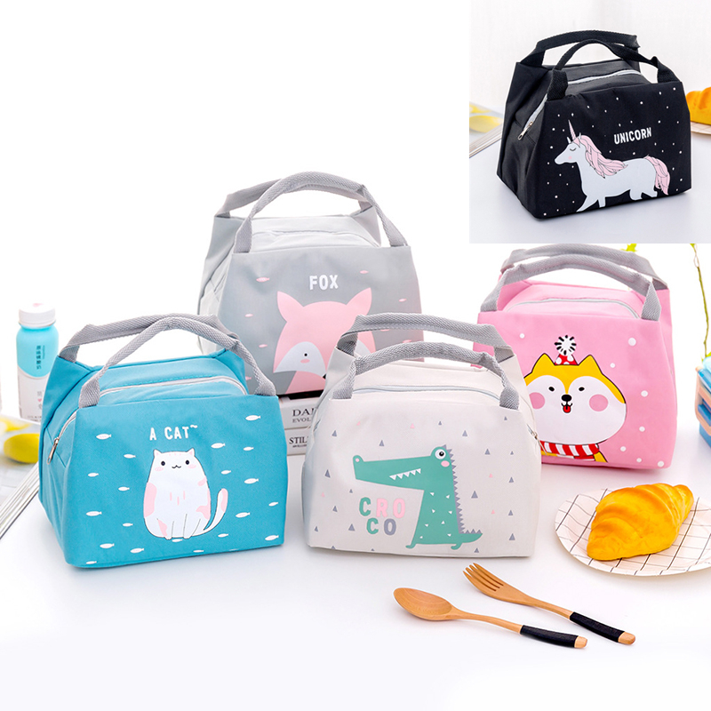 Heat/cold Insulation Bag Baby Food Milk Bottle Storage Insulation Bags Waterproof Oxford  Lunch Bag Infant Kids Food Bag FOX Bag