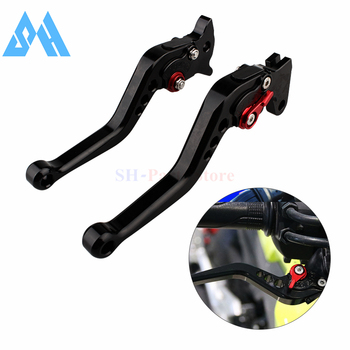 Black-red Brake Clutch Levers For Honda CB300R CBR250R CBR300R CB300F CBR500R CB500F CB500X GROM MSX125 NSR50 Z125 monkey bike image