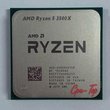 AMD Ryzen 5 3500X R5 3500X 3.6 GHz a Sei Core Sei-Thread di CPU Processore 7NM 65W L3 = 32M 100-000000158 Presa AM4 Senza Ventola