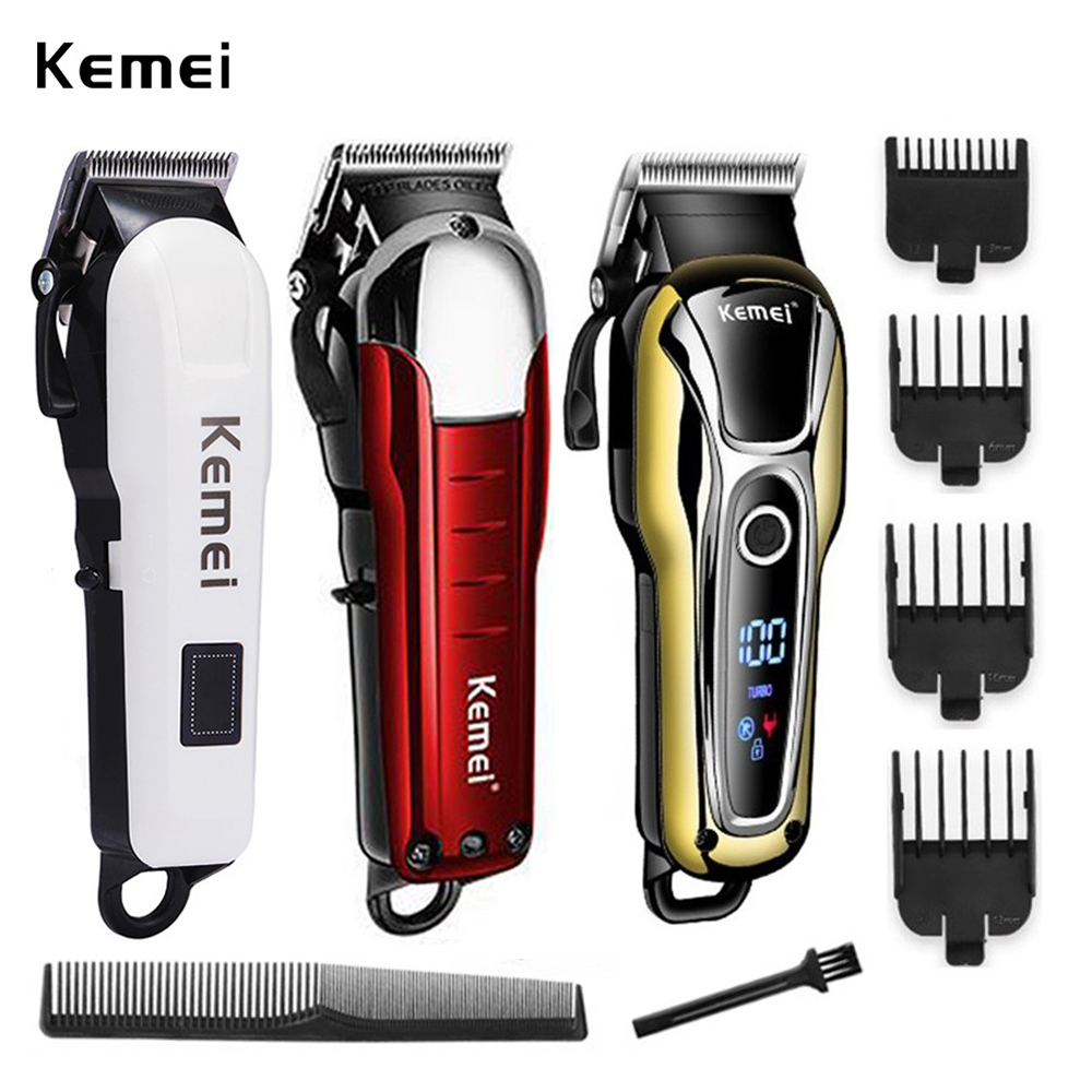 Kemei Trimmer Professional Hair Clipper Hair Cutting Machine Hair Trimmer Electric Haircut Machine Hair Hairdresser Tools 5