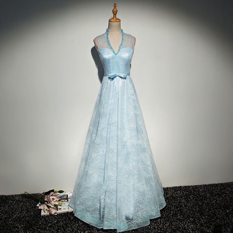 2020 Rushed Satin Robe De Cocktail Courte Vestido Cocktail Gengli Evening Dress 2020 New Banquet Host Long Elegant Slim Fall
