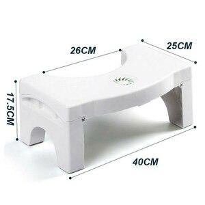 Image 4 - PP katlanır çok fonksiyonlu tuvalet taburesi taşınabilir adım ev banyo için TB satış