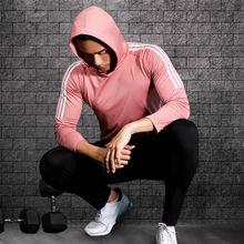 Осень 2021 спортивный костюм Мужская компрессионная одежда для