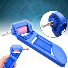 Durable Drill Bit Grinder ABS + Corundum Grinding Wheel Drill Bit Sharpener Electric Titanium Drilling Powered Tool(China)