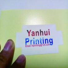 """3x"""" квадратный виниловый водонепроницаемый стикер печать на заказ(белый фон, kiss cut"""