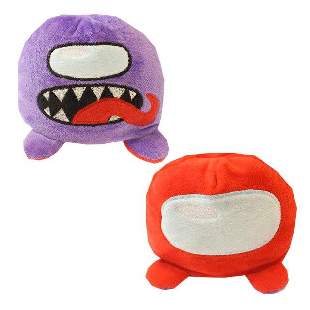 Among Us Flip two-sided Plush Toys Animal Among Us Game Stuffed Doll Kawaii Hot Sale Soft Among Us Plush Stuffed Doll Toys 2