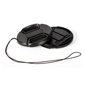 Image 3 - Walkingway Lens Cap Holder 43/49/52/55/58/62/67/72/77/82mm Center Pinch Snap on Cap Cover Lens Cap Protective Lens Protector