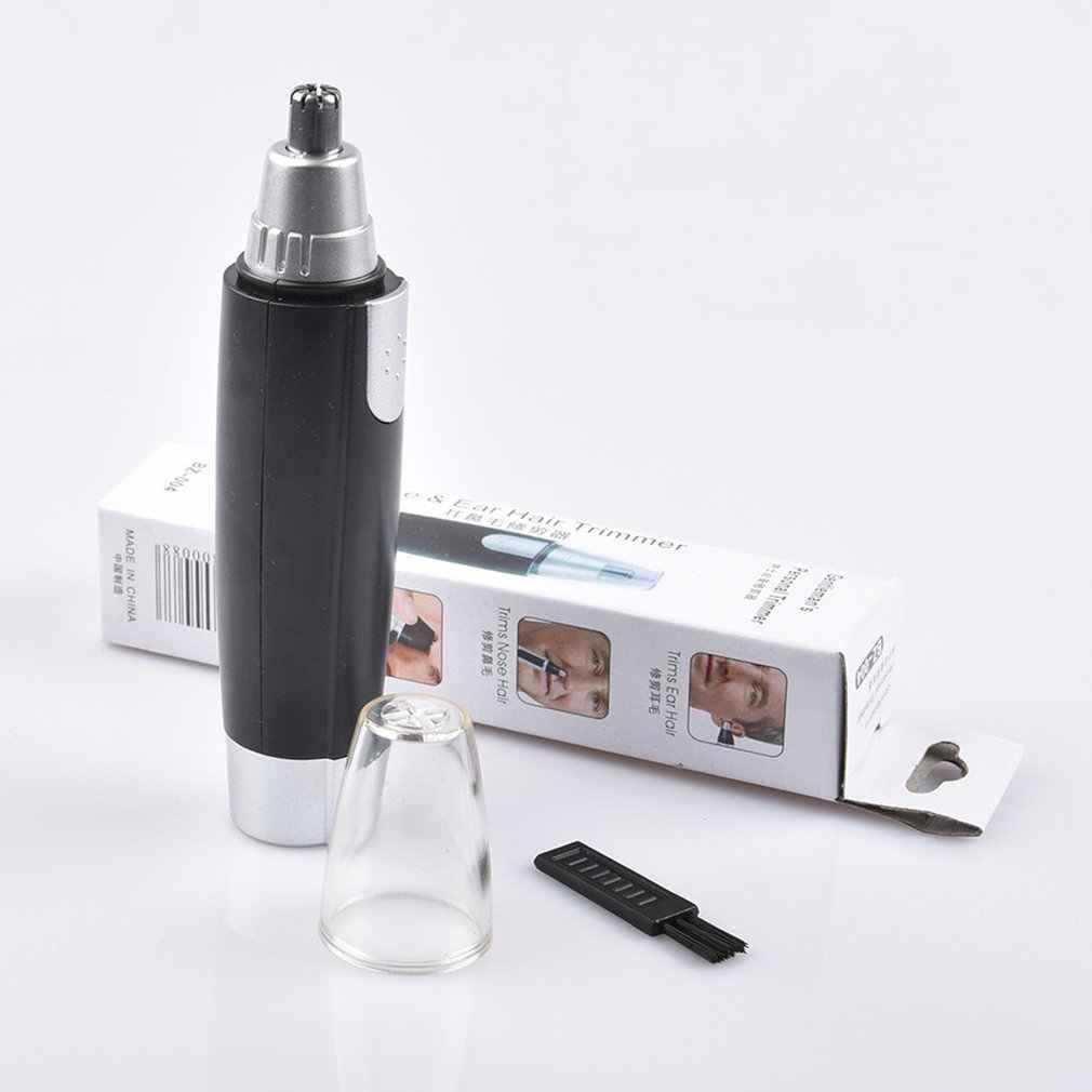 Recortadora eléctrica para el pelo de la nariz para hombres mujeres oreja cara limpia Trimer maquinilla de afeitar recortadora de la nariz cuidado de la cara Envío Directo