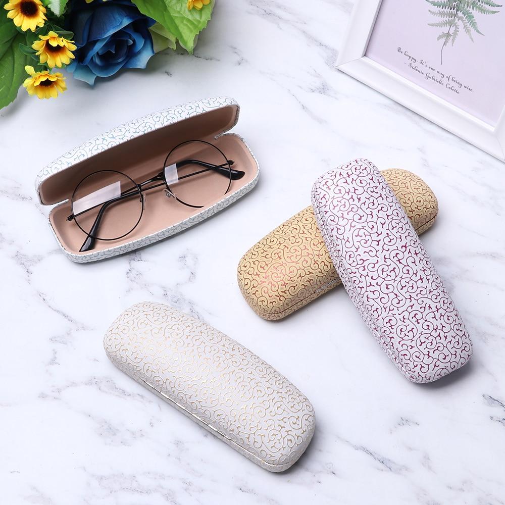 Metal Reading Glasses Eyewear Case For Men Women Kids Eyeglasses Eye Glasses Hard Shell Protector Sunglasses Box Case