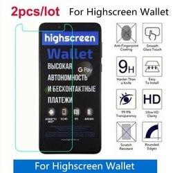 На Алиэкспресс купить стекло для смартфона tempered glass for highscreen wallet 2.5d premium screen protector film on highscreen wallet protective film glass