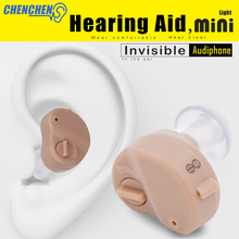 New Adjustable Super Mini Invisible Sound Amplifier Hearing Aid In Ear Sound Enhancement Deaf Aid For Ear Audifono все цены