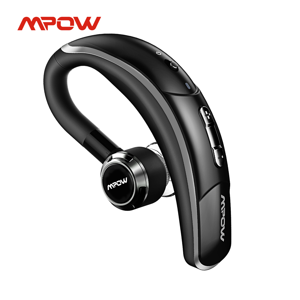 Mpow BH028A Bluetooth гарнитура Беспроводной Bluetooth наушники хэндс-фри звонков вкладыши с 6hrs воспроизведения для Бизнес водителя автомобиля
