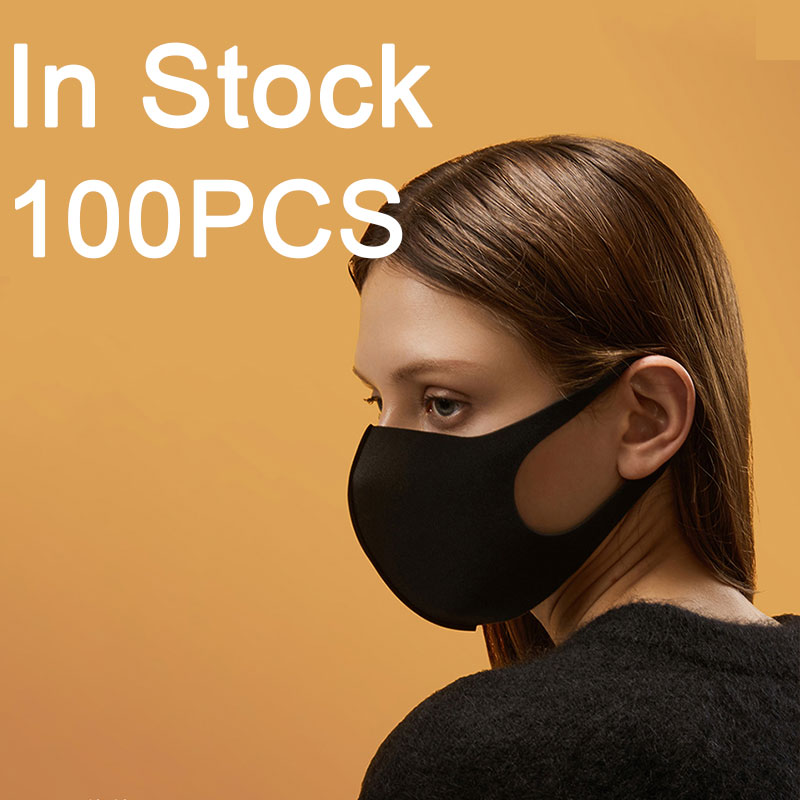 Disposable Protective Mask 100PCS Adult Face Mask Sponge Anti Dust Smoke Pollution PM2.5 Mascarillas With Washable