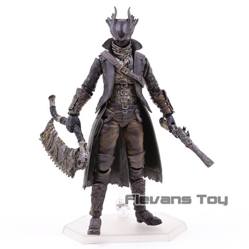 Figma 367 Hunter Bloodborne Bloodboorne PVC Action Figure Collectible Model Toy 2