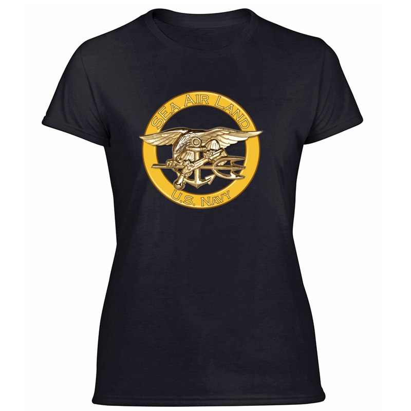 Personalidade mar ar terra (selos) tshirt para roupa masculina tshirts tripulação pescoço masculino oversize S-5xl camisetas