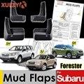 Брызговики для Subaru Forester SH 2007 - 2012 SJ 2013 - 2018 SK 2019-on, брызговики, защитное крыло брызговиков