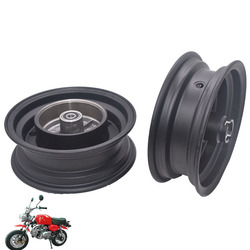 Black/Sliver Front wheel hub and Rear wheel hub for Honda Mini Trail Bike monkey DAX Z50A Z50R Z50J Z110 Z125