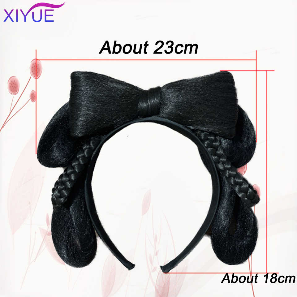 Xiyue Bruid Haar Clip Haarbanden Chinese Oude Haaraccessoires Vintage Haar Zwart Haar Mooie Bruid Hoofd Accessoires