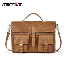 Leather men's bag European and American leisure retro first layer leather men's shoulder oblique bag handbag ladies new first layer leather crocodile pattern european and american fashion shoulder diagonal portable boston leather handbag