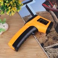-50~380 Degree Handheld Pyrometer Digital Infrared Thermometer Non-Contact Laser LCD Display IR Temperature Gun Instruments