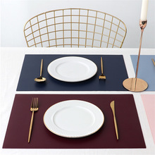 Rectangle West Table Mat Table Protector Non-slip Coaster Bowl Tableware Insulation Pad Placemat for Dining Desk Mug Coasters non slip bar rubber mat pvc pad coaster kitchen placemat bar rectangle mat cup mug set beer whiskey waterproof bar accessories