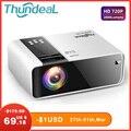 ThundeaL HD Мини проектор TD90 Native 1280x720 P LED Android WiFi проектор видео домашний кинотеатр 3D HDMI Кино игра Proyector
