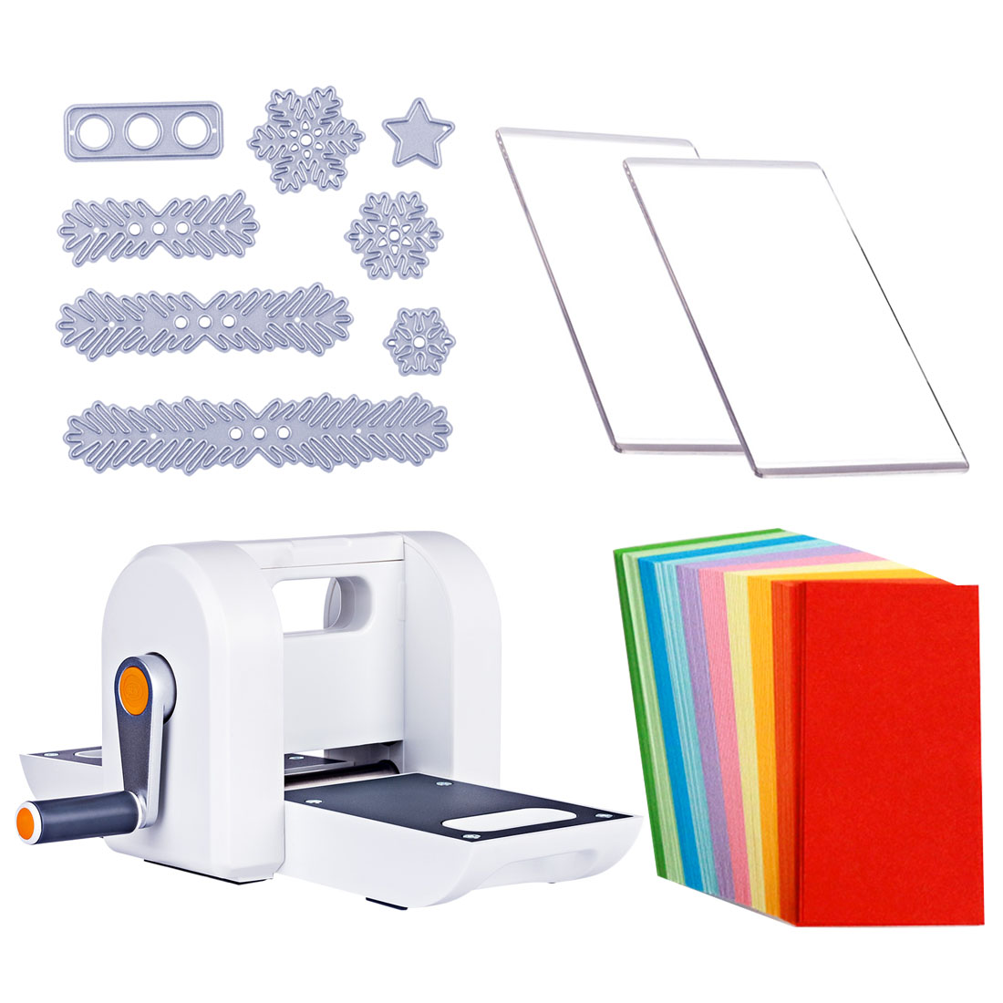 DIY Die Cutting Embossing Machine Scrabooking Alubm Card Cutter Tool Die-Cut Machines 200 Sheets Folding Paper Scrapbook Tool