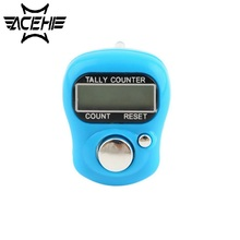 цена на Multicolor Stitch Marker And Row Finger Counter LCD Electronic Digital Tally Counter Factory Price Worldwide