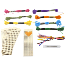 Bookmark Crafts Embroidery Cross-Stitch Threading-Tools And Art 6pcs Beginner-Kit Sewing
