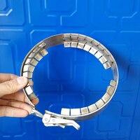 100mm/150mm/200mm/230mm grampo da flange do aço inoxidável  acessórios reator Aberto  Flange clipe