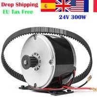 24V 300W MY1016 Gebürstet Motor Für Elektrische Roller Mit Gürtel Pulley Motor Hohe Geschwindigkeit Roller Motor Ebike Motor kits