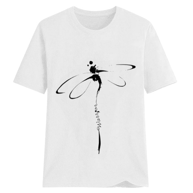 dragonfly design tee 4