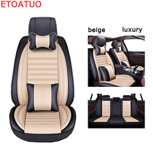 Full Coverage Eco leather auto seats covers PU Leather Car Seat Covers for audi a6 c5 c6 c7 4f avant allroad audi a7 audi q3 car