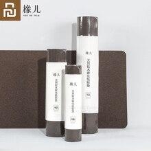 Tapis de souris Original en liège naturel Youpin chêne Anti encrassement imperméable au toucher tapis de souris pliable naturel Thermostat de bureau