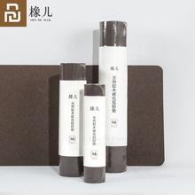 Оригинальный коврик для мыши Youpin Oak, натуральный пробковый коврик для мыши, противообрастающий, водонепроницаемый, сенсорный, натуральный, гибкий, термостат, Рабочий стол
