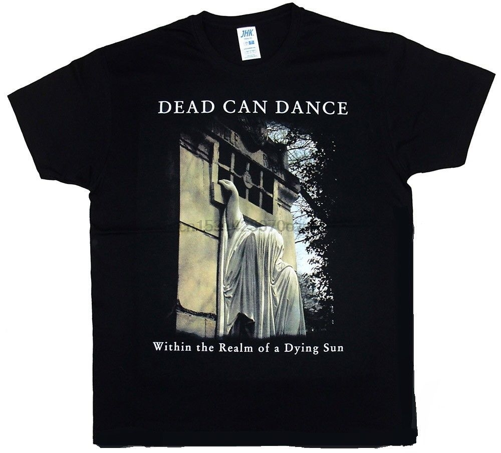 Dead Can Dance - Within The Realm of A Dying Sun Black T-Shirt Casual Plus Size T Shirts Hip Hop Style Tops Tee S-3Xl