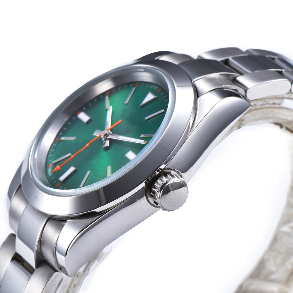 automatic mechanical watch watch men 316L Solid stainless steel Luminous waterproof 40MM LLS922z