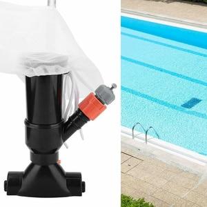 Image 5 - Пылесос для бассейна, пылесос для бассейна, 5 секций, всасывающий наконечник, разъем на входе, портативный съемный чистящий инструмент, ЕС